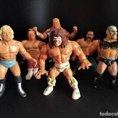Figurines et Jouets Pressing Catch: LOTE DE PRESSING CATCH, WWF & WCW 1990.. Lote 217004098