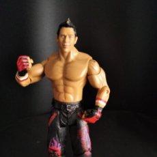 Figuras y Muñecos Pressing Catch: THE MIZ - FIGURA PRESSING CATCH - WWE WWF - JAKKS. Lote 218014011