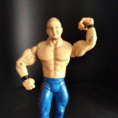 Figuras y Muñecos Pressing Catch: DANNY BASHAM - FIGURA PRESSING CATCH - WWF WWE - JAKKS -. Lote 218014340