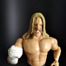Figuras y Muñecos Pressing Catch: TRIPLE H - FIGURA PRESSING CATCH - WWF WWE - JAKKS -. Lote 218014510