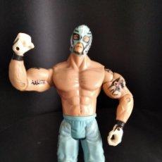 Figuras y Muñecos Pressing Catch: REY MYSTERIO - FIGURA PRESSING CATCH - WWF WWE - JAKKS - MISTERIO. Lote 218014702