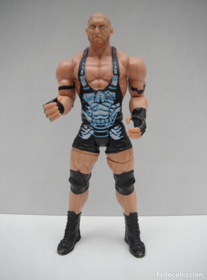 FIGURA DE WWE - SUPER STRIKERS RYBACK - BJM90 - MATTEL 2013 (Juguetes - Figuras de Acción - Pressing Catch)