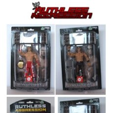 Figuras y Muñecos Pressing Catch: W0RLD WRESTLING - RUTHLESS - AGGRESSION - WWE - 4 U.. Lote 218416808