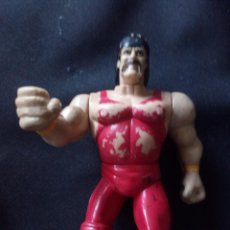 Figurines et Jouets Pressing Catch: HULK HOGAN MANNIX WWE WWF. Lote 218517041