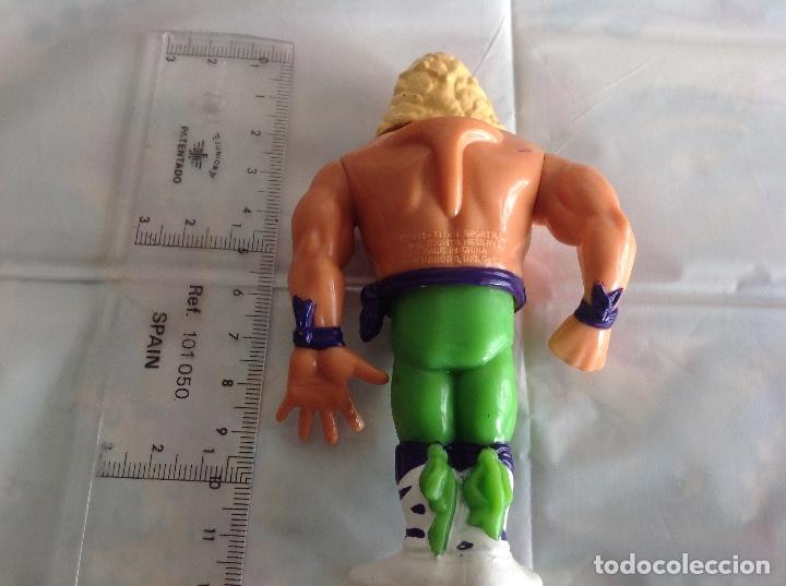 Figuras y Muñecos Pressing Catch: FIGURA WWE TITÁN SPORT 1991 - Foto 3 - 219082100
