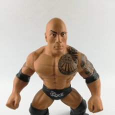 Figuras y Muñecos Pressing Catch: THE ROCK WWE 2016 CON SONIDO TAMAÑO GRANDE. Lote 219729461