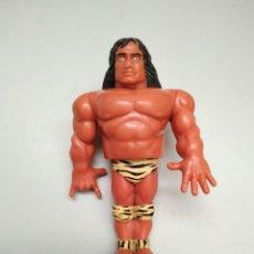Figuras y Muñecos Pressing Catch: WWF WWE HASBRO MOSCA JIMMY SNUKA SERIE 2 PRESSING CATCH LUCHA LIBRE 1991. Lote 235845925