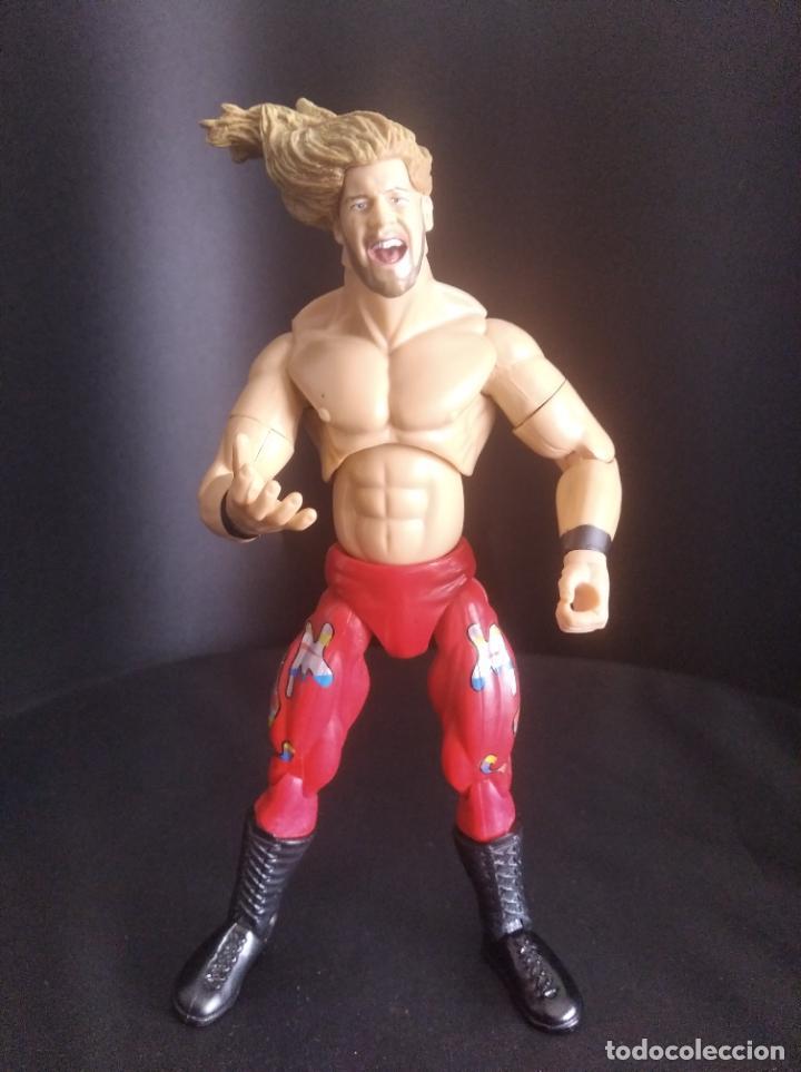 Figuras y Muñecos Pressing Catch: CHRIS JERICHO - FIGURA DELUXE ELITE - PRESSING CATCH - WWF WWE - JAKKS - - Foto 3 - 221547101