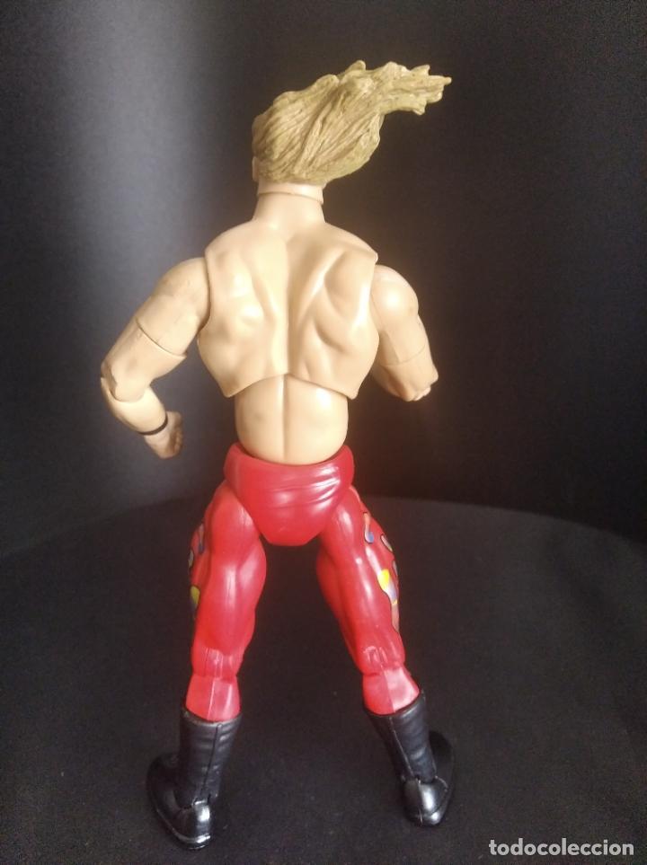 Figuras y Muñecos Pressing Catch: CHRIS JERICHO - FIGURA DELUXE ELITE - PRESSING CATCH - WWF WWE - JAKKS - - Foto 4 - 221547101