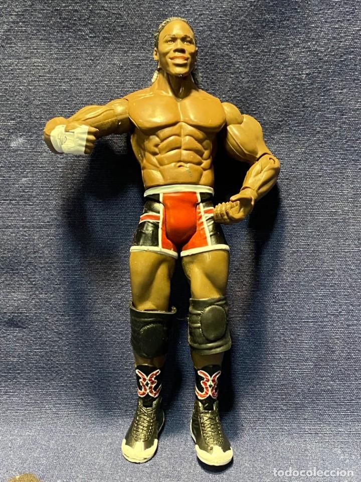 MUÑECO 2004 WWE JAKKS PACIFIC INC 18,5CMS (Juguetes - Figuras de Acción - Pressing Catch)
