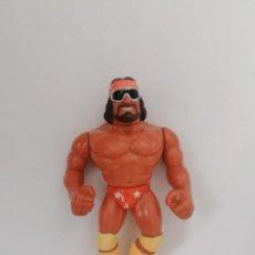 Figuras e Bonecos Pressing Catch: MACHO MAN RANDY SAVAGE WWF HASBRO PRESSING CATCH. Lote 224706247