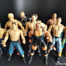 Figuras y Muñecos Pressing Catch: WRESTLERS WWE, WWF, WCW, TNA -COLECCION LOTE DE 10 FIGURAS - 00'S .. Lote 224880936
