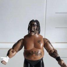 Figuras y Muñecos Pressing Catch: FIGURA WWE SAMOA PRESSING CATCH ARTICULADO 2004. Lote 226262065