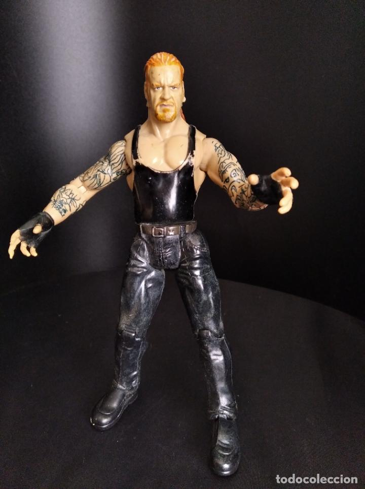 EL ENTERRADOR - UNDERTAKER- PRESSING CATCH - WWE WWF JAKKS (Juguetes - Figuras de Acción - Pressing Catch)