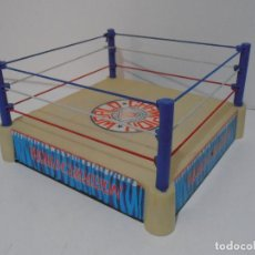 Figuras y Muñecos Pressing Catch: RING DE LUCHA LIBRE BOOTLEG, POSIBLE MADE IN SPAIN,WORLD CHAMPION WRESTLING WORD CUP. Lote 230253970
