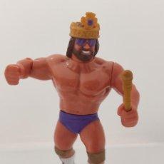 Figuras y Muñecos Pressing Catch: RANDY SAVAGE COMPLETO - WWF HASBRO PRESSING CATCH - SERIE 2 - MUÑECO - FIGURA - MACHO KING. Lote 235063740