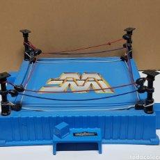 Figuras y Muñecos Pressing Catch: RING PRESSING CATCH WWF WWE HASBRO. Lote 235373245