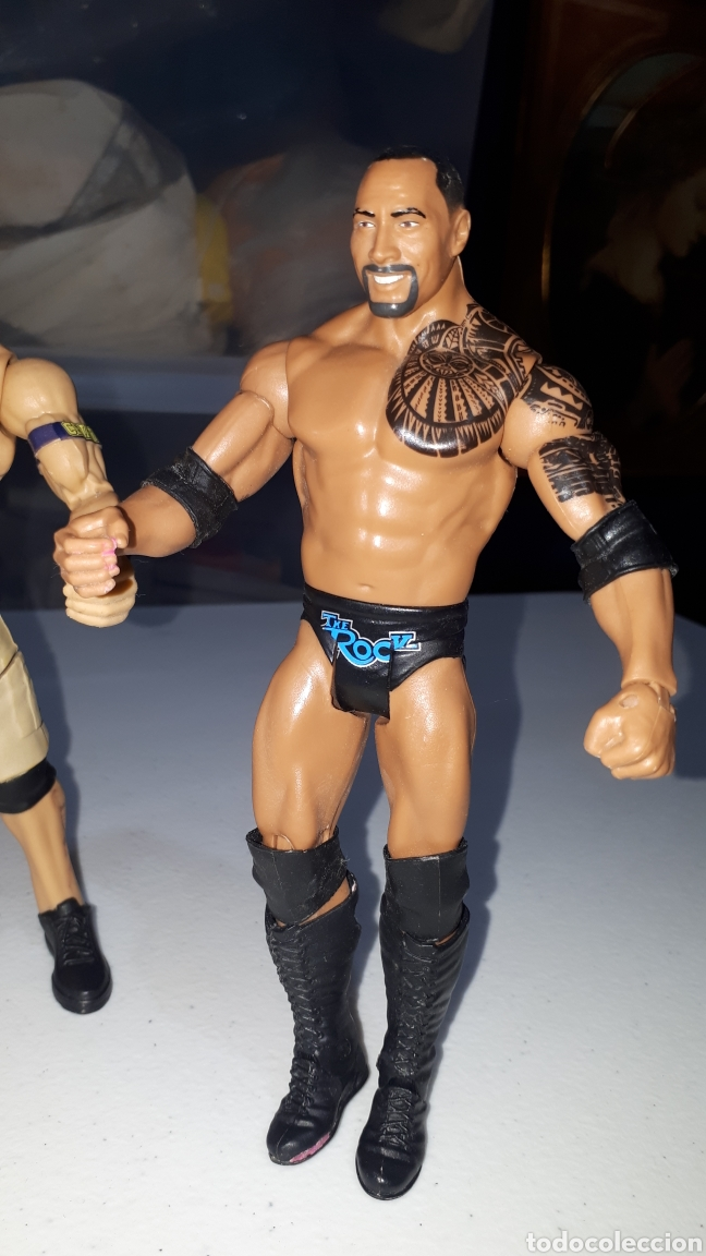 Figuras y Muñecos Pressing Catch: Lote 4 figuras articuladas WWE 2011 2013 2014 - Foto 2 - 235463650