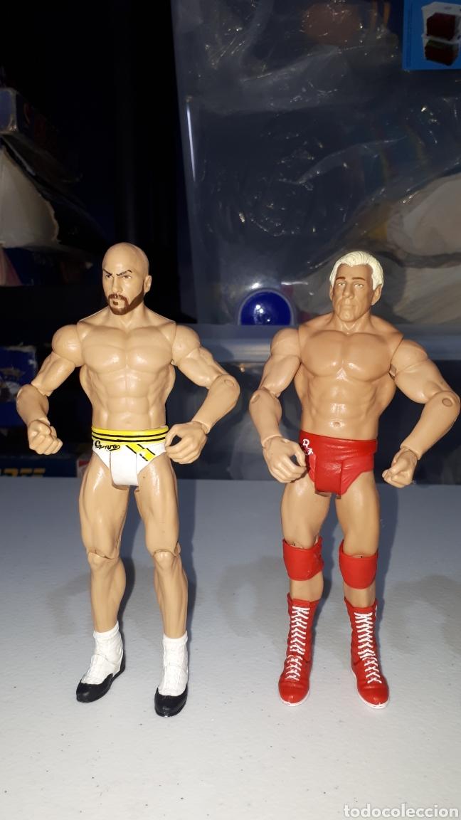 Figuras y Muñecos Pressing Catch: Lote 4 figuras articuladas WWE 2011 2013 2014 - Foto 4 - 235463650