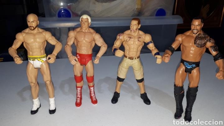 LOTE 4 FIGURAS ARTICULADAS WWE 2011 2013 2014 (Juguetes - Figuras de Acción - Pressing Catch)