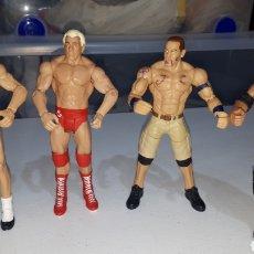 Figuras y Muñecos Pressing Catch: LOTE 4 FIGURAS ARTICULADAS WWE 2011 2013 2014. Lote 235463650