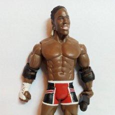 Figuras y Muñecos Pressing Catch: FIGURA DE ACCION KAKK PACIFIC WWE SERIE 4 ELIJAH BURKE 2004 18 CM. Lote 238115570