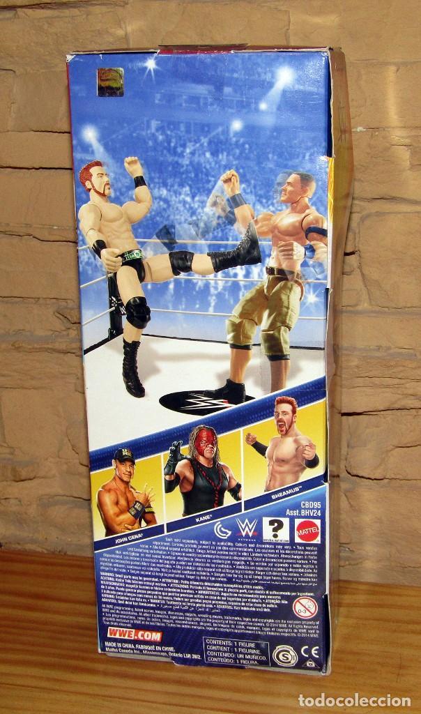 Figuras y Muñecos Pressing Catch: WRESTLING - PRESSING CATCH - FIGURA DE SHEAMUS - MATTEL - 2014 - WWE - NUEVA Y EN SU CAJA ORIGINAL - Foto 2 - 243517215