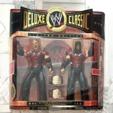 Figuras y Muñecos Pressing Catch: FIGURAS HARDY BOYS. WWE DELUXE CLASSIC EXCLUSIVES. LIMITED EDITION SERIES 6. JAKKS PACIFIC 2007. Lote 244484480