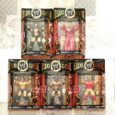 Figuras y Muñecos Pressing Catch: FIGURAS WWE DELUXE CLASSIC SUPERSTARS SERIES 1. JAKKS PACIFIC 2006. Lote 244486440