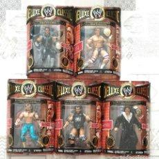 Figuras y Muñecos Pressing Catch: FIGURAS WWE DELUXE CLASSIC SUPERSTARS SERIES 3. JAKKS PACIFIC 2007. Lote 244488255