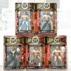 Figuras y Muñecos Pressing Catch: FIGURAS WWE DELUXE CLASSIC SUPERSTARS SERIES 4. JAKKS PACIFIC 2008. Lote 244488770