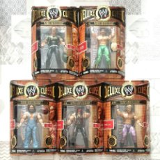 Figuras y Muñecos Pressing Catch: FIGURAS WWE DELUXE CLASSIC SUPERSTARS SERIES 6. JAKKS PACIFIC 2008. Lote 244490090