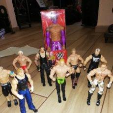 Figuras y Muñecos Pressing Catch: LOTE DE 9 LUCHADORES DE LA WWF.. AÑOS 2000... Lote 245006720