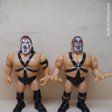 Figuras y Muñecos Pressing Catch: FIGURA WWF PRESSING CATCH - DEMOLITION SMASH & AX (SERIE 6) 1993 HASBRO. Lote 245450670