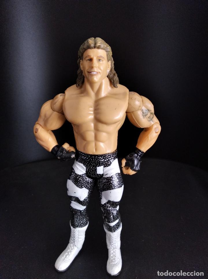 HBK SHAWN MICHAELS - FIGURA CLASSIC - PRESSING CATCH - WWE WWF - JAKKS. (Juguetes - Figuras de Acción - Pressing Catch)