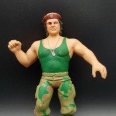 Figuras y Muñecos Pressing Catch: VINTAGE TITAN SPORTS WWF LJN CORPORAL KIRCHNER 1986 RUBBER WRESTLER. Lote 248287625
