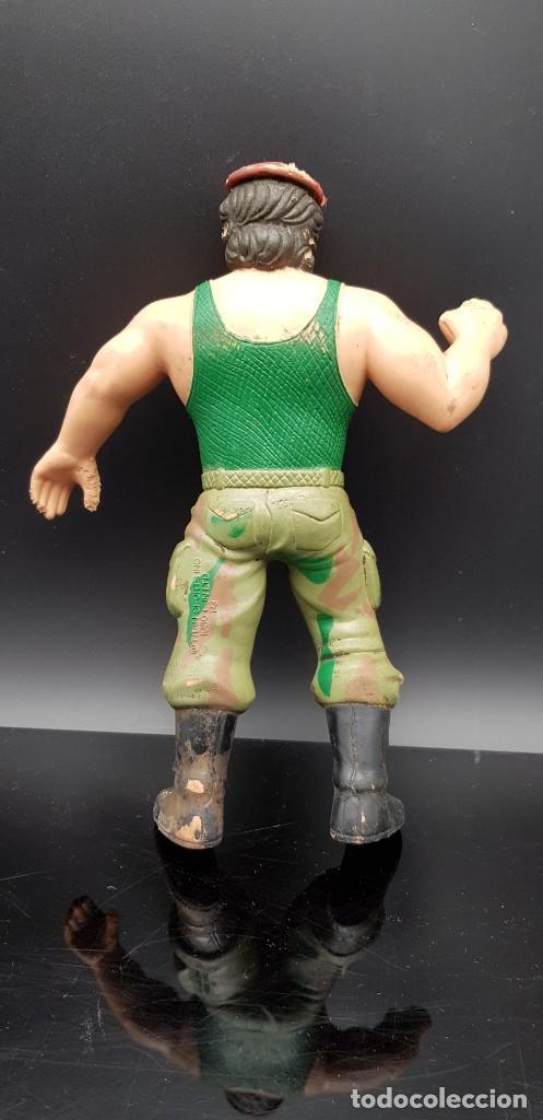 Figuras y Muñecos Pressing Catch: Vintage Titan Sports WWF LJN CORPORAL KIRCHNER 1986 Rubber Wrestler - Foto 2 - 248287625