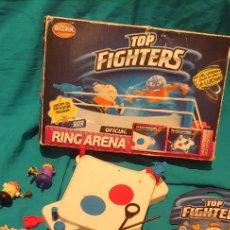 Figuras y Muñecos Pressing Catch: LOTE JUEGO DE MESA TOP FIGHTERS OFICIAL, RING ARENA BIZAK MUÑECOS UNO PRECINTADO.. Lote 248364950