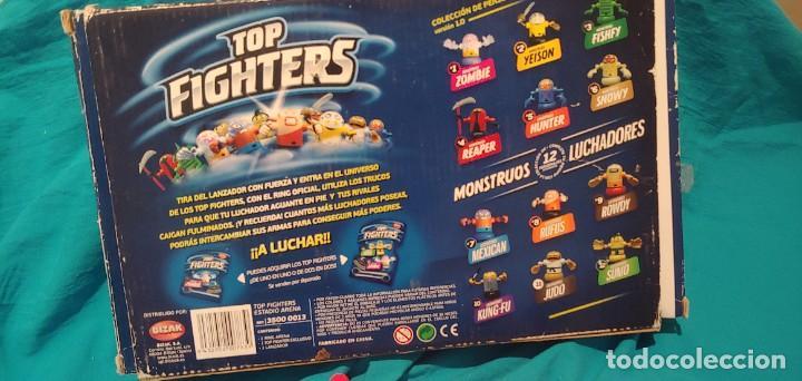 Figuras y Muñecos Pressing Catch: LOTE JUEGO DE MESA TOP FIGHTERS OFICIAL, RING ARENA BIZAK MUÑECOS UNO PRECINTADO. - Foto 3 - 248364950