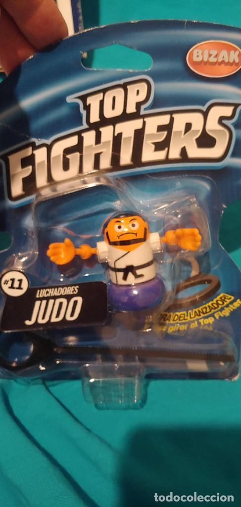Figuras y Muñecos Pressing Catch: LOTE JUEGO DE MESA TOP FIGHTERS OFICIAL, RING ARENA BIZAK MUÑECOS UNO PRECINTADO. - Foto 14 - 248364950