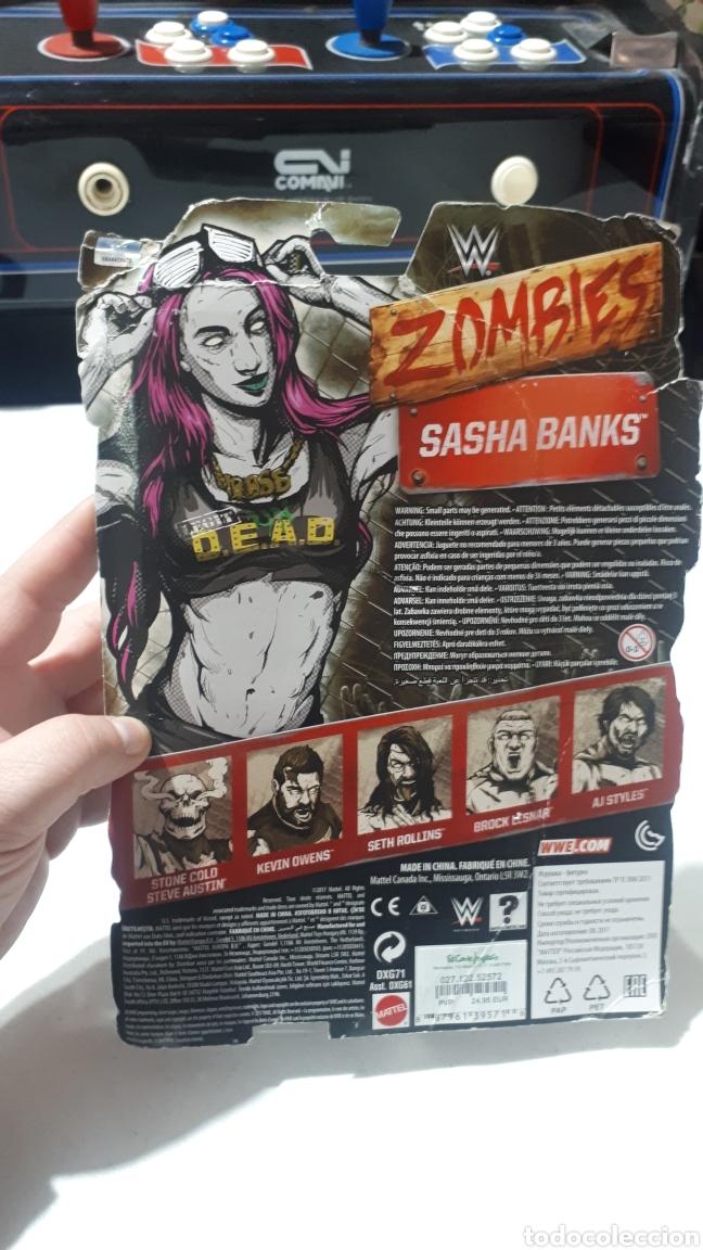 Figuras y Muñecos Pressing Catch: ZOMBIES SASHA BANKS 2017 - Foto 2 - 248959420