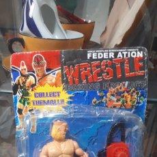 Figuras y Muñecos Pressing Catch: FIGURA BOOTLEG PRESSING CATCH WWF WWE EN BLISTER LEER DESCRIPCIÓN. Lote 249466355