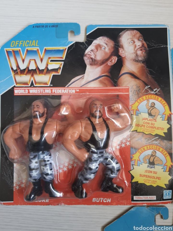 Figuras y Muñecos Pressing Catch: LOTE INCREIBLE DE FIGURAS ORIGINALES HASBRO WWF WWE LUCHA LIBRE AÑOS 1990-1991 - Foto 2 - 252320690