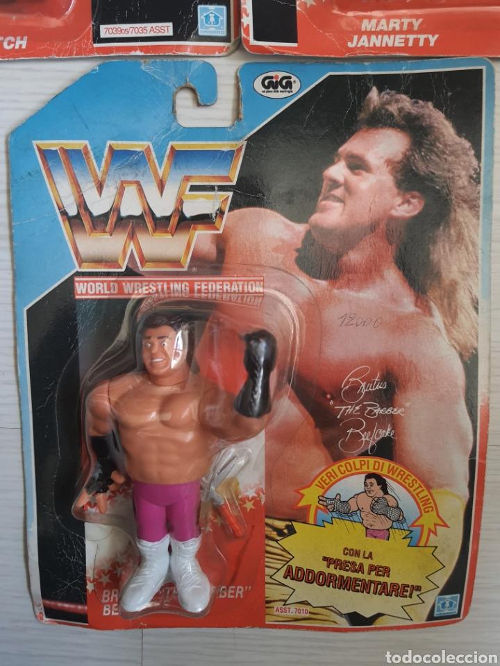 Figuras y Muñecos Pressing Catch: LOTE INCREIBLE DE FIGURAS ORIGINALES HASBRO WWF WWE LUCHA LIBRE AÑOS 1990-1991 - Foto 4 - 252320690