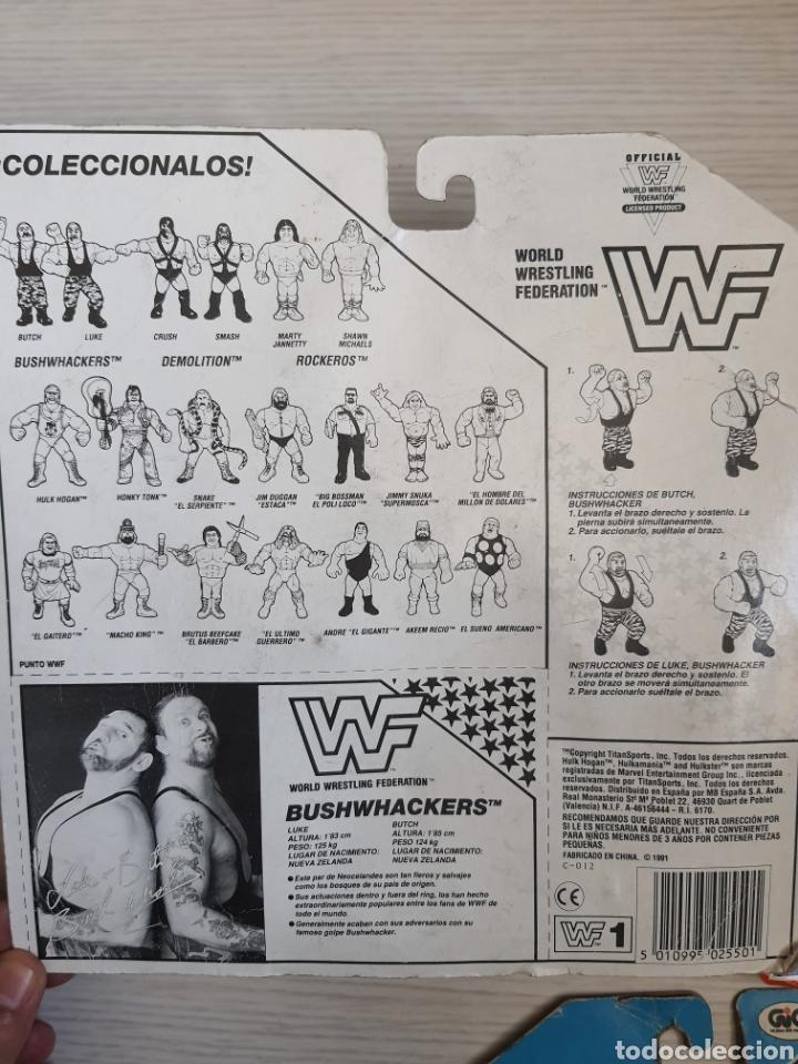 Figuras y Muñecos Pressing Catch: LOTE INCREIBLE DE FIGURAS ORIGINALES HASBRO WWF WWE LUCHA LIBRE AÑOS 1990-1991 - Foto 5 - 252320690