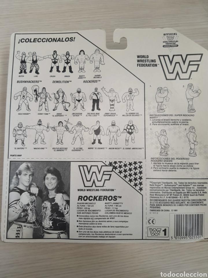 Figuras y Muñecos Pressing Catch: LOTE INCREIBLE DE FIGURAS ORIGINALES HASBRO WWF WWE LUCHA LIBRE AÑOS 1990-1991 - Foto 6 - 252320690