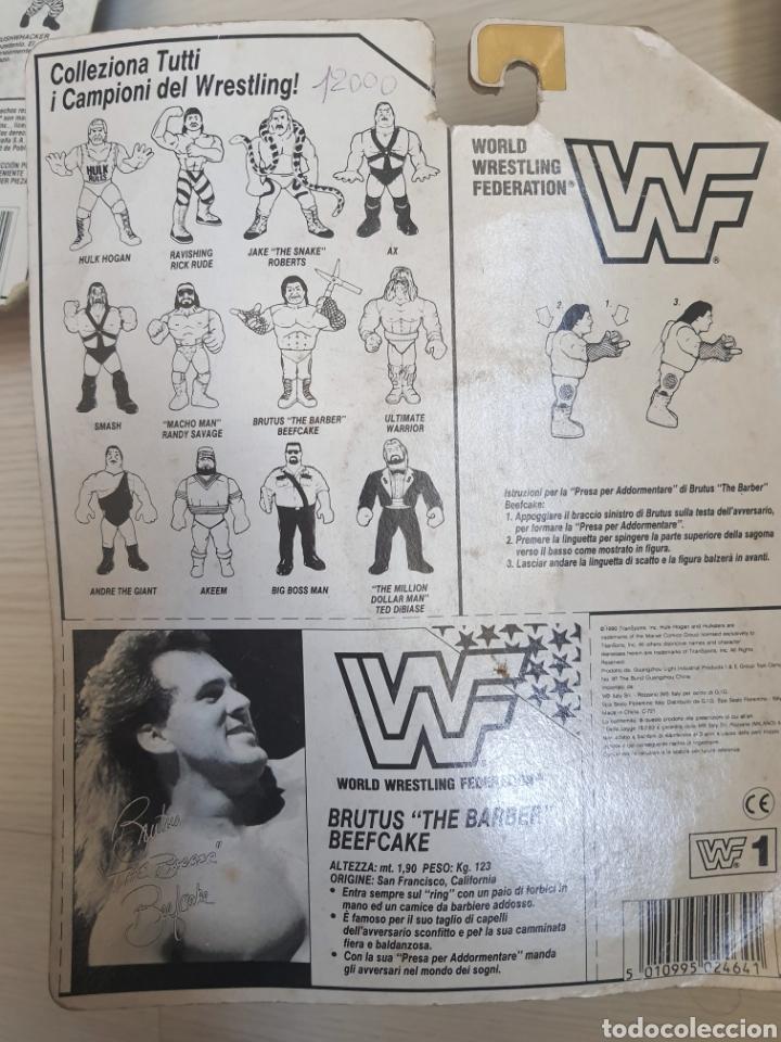 Figuras y Muñecos Pressing Catch: LOTE INCREIBLE DE FIGURAS ORIGINALES HASBRO WWF WWE LUCHA LIBRE AÑOS 1990-1991 - Foto 7 - 252320690