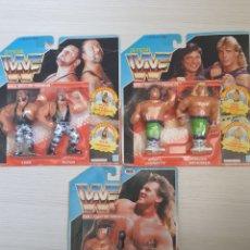 Figuras y Muñecos Pressing Catch: LOTE INCREIBLE DE FIGURAS ORIGINALES HASBRO WWF WWE LUCHA LIBRE AÑOS 1990-1991. Lote 252320690