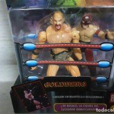 Figuras y Muñecos Pressing Catch: FIGURA WCW GOLDBERG. BANDAI. NUEVO.. Lote 253296480