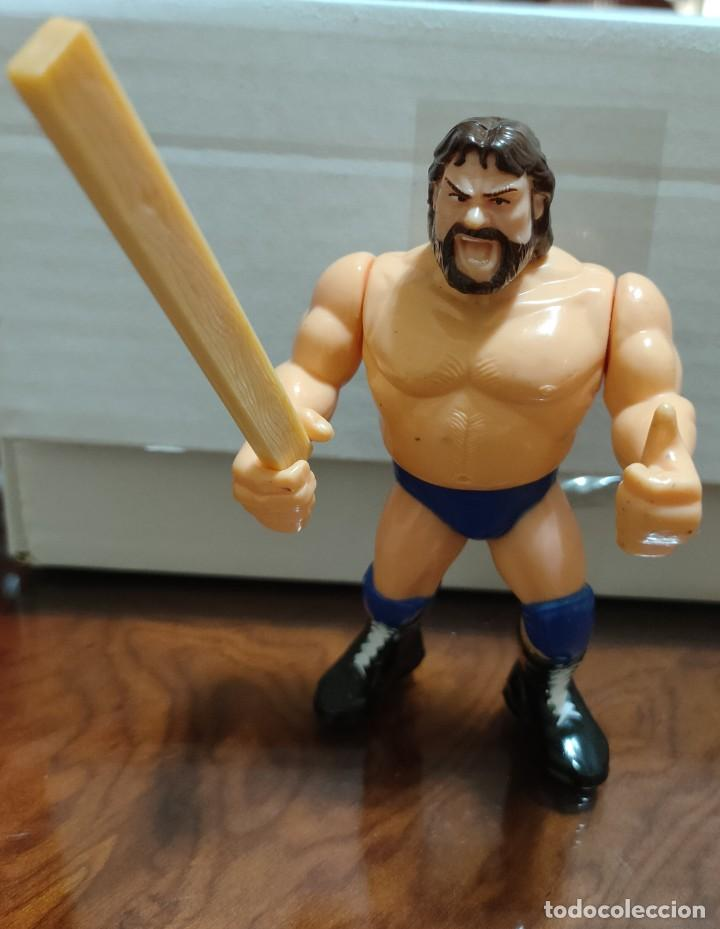 """MUÑECO JIMMY """"ESTACA"""" DUGGAN PRESSING CATCH WWF (HASBRO AÑOS 90) (Juguetes - Figuras de Acción - Pressing Catch)"""